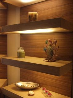 14 DIY Floating Shelves Used As Wall Organizers