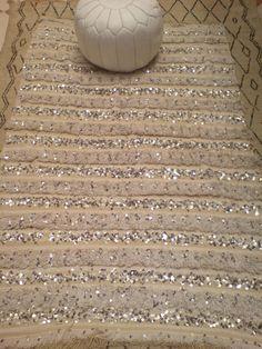 Vintage Moroccan Handira Wedding Blanket Throw by BoutiqueMaroc, £365.00