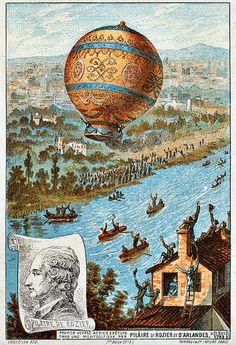 Jean-François Pilâtre de Rozier (30 Mart 1754 - 15 Haziran 1785), hidrojenle şişirilmiş bir balonla ilk defa Manş denizini geçmeyi başaran havacı.
