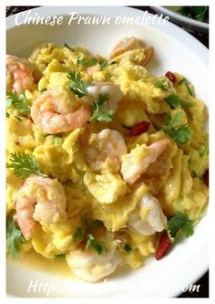 Chinese Prawn Omelette (滑蛋虾仁)#guaishushu #kenneth_goh #Chinese_prawn_omelette #滑蛋虾仁