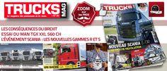 Trucks Mag est dans les kiosques ! 13 septembre 2016 - Trucksmag N°30  http://www.truckeditions.com/Trucks-Mag-est-dans-les-kiosques.html#.V9pOYbV185Q