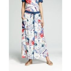 Peter Som for DesigNation Postcard Maxi Skirt - Women's @Kohl's.com $51