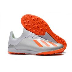 2018 adidas X 18.3 TF Silver Vit Orange Fotbollsskor c9c6a4031ae79