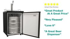 Buy the EdgeStar Full Size Kegerator with Digital Display for a large, durable kegerator perfect for the dispensing of cold, fresh beer in the comfort of your own home. Homebrewing, Own Home, Cool Stuff, Stuff To Buy, Home Goods, Beer, Display, Digital, Cool Things