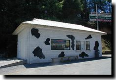 Heifer's Dairy Dip in Gatlinburg, TN is an awesome place to drop by for a cone or a shake!