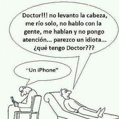 ¿Qué tengo doctor? #iphone
