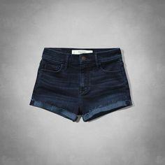 A&F High Rise Short-Shorts