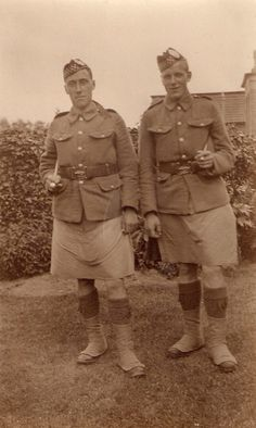 Argyll and Sutherland Highlanders.