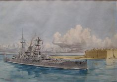 HMS Malaya. Builder: Armstrong Whitworth. Laid down: 20 October 1913. Launched: 18 March 1915. Commissioned: 1 February 1916. Decommissioned: 1944. Struck: 12 April 1948. Fate: Scrapped. Class: Queen Elizabeth-class battleship. Displacement: 33,020 tons. Length: 196.82 m. Beam: 27.58 m. Draught: 9.09 m. Speed: 25 knots.