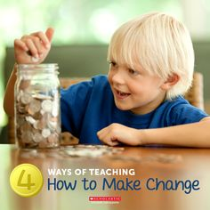Make a change in how you teach your child about making change.
