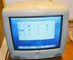 Guess what I found in my storage.   A iMac Summer 2001 model, Power PC 600Mhz with 256MB RAM that was still working.