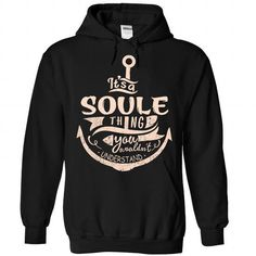 SOULE - #tshirt bemalen #white sweatshirt. GET => https://www.sunfrog.com/Camping/SOULE-Black-88561191-Hoodie.html?68278
