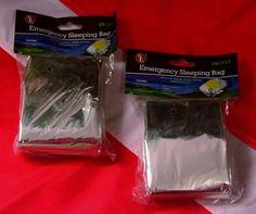 Emergency sleeping bag survival prepper bug out bag hiking boating disaster UST2…