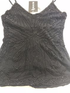 e8b2ecea08 BLUOLTRE Women NWT Embellished Black Top size S Free Shipping  1030   BLBLUOLTREJEANS  TOP  EveningOccasion