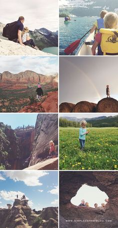 Capturing memorable #family moments in the great #outdoors with your phone! #iPhonePhotography