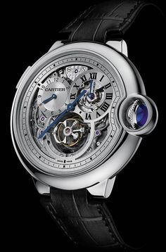 Cartier Ballon Bleu Tourbillon White Gold (2013 Sneak Peek)