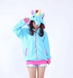 46d684d95 Cosplay Unicorn Pikachu Stitch Hoodie Sweatshirt Costumes Plush Animal  Hooded Jacketwwetoro