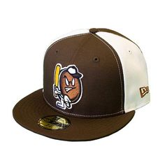 A Whoopie Pie On-Field Fitted Hat Minor League Baseball, New Era 59fifty, Whoopie Pies, Mens Caps, Boston Red Sox, Riding Helmets, Baseball Hats, My Style, Portland