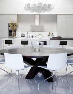 High-Contrast Kitchen   photo Monic Richard   design Julie Charbonneau   House & Home