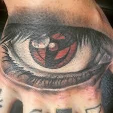 Znalezione obrazy dla zapytania kakashi sharingan tattoo