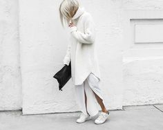 STYLECASTER   How to Wear White This Winter