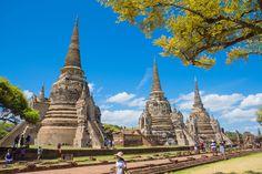 Ayutthaya Historical Park, Phra Nakhon Si Ayutthaya, Ayutthaya ,THAILAND ©Pixabay
