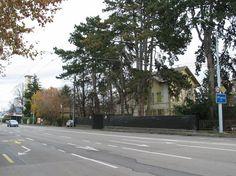 Le n° 49, route de Chancy, en décembre 2007. Recherche Google, Sidewalk, Street View, Side Walkway, Sidewalks, Pavement, Walkways