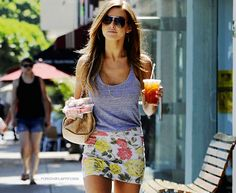 Audrina Patridge - Um, you're wearing a REALLY cute outfit!