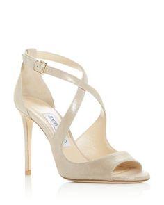 da1b902a355 Jimmy Choo Women s Emily 100 Crisscross High-Heel Sandals
