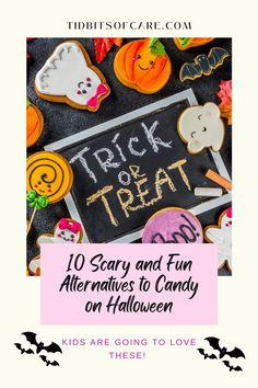 Hand out some awesome treats to trick or treaters this Halloween that are scary and fun. Halloween Candy, Halloween Kids, Trick Or Treat, Scary, Alternative, Kids Rugs, Treats, Blog, Fun