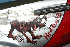 P-51 Mustang - Red Dog XII