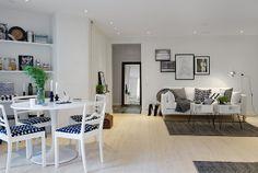 La maison d'Anna G.: Noir & blanc #white_kitchen
