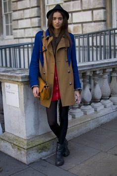 Two tone trench