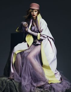 Key looks for autumn 'Pastels' | Josephine Skriver | Andrew Yee #photography | How To Spend It