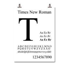 Times New Roman taulu merkiltä Wallstuff. Times New Roman fontin loi Paxson E. Helgesen 1931 br...