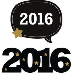 Silhouette Design Store - View Design #113059: new year's eve photo props