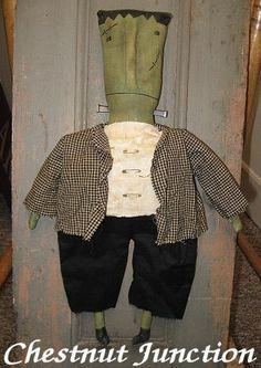 (9) Name: 'Sewing : Frankenstein EPATTERN...halloween crafts
