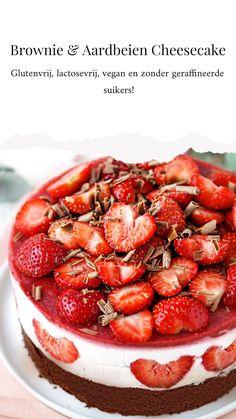 Vegan Gluten Free Desserts, Gluten Free Brownies, Healthy Dessert Recipes, Sweets Recipes, Healthy Baking, Baking Recipes, Snack Recipes, Vegan Pie, Vegan Cheesecake