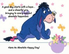 Have a happy Eeyore day!