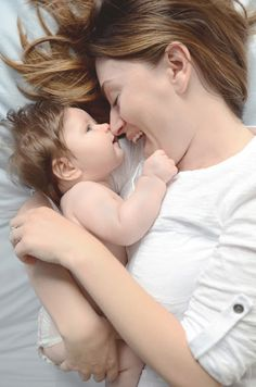 Mommy and baby photoshoot