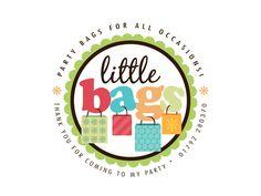 Enter to win a custom designed logo: http://boutiquebydesign.com/blog/free-logo-contest-details/  Boutique By Design Portfolio - Logo Design - Little Bags Party Supplies