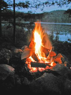 fire +lake=perfection