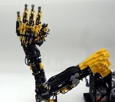 Lego prosthetic arm.