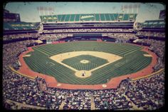 Oakland Coliseum, home of the A's