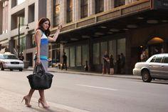 My Style: Sleeveless Striped Dress