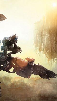 Getting ready to jump - Titanfall Sci-Fi image