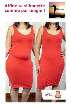 Dis Adieu à ces formes que tu n'aimes pas ! Découvre la nouvelle gaine amincissante Easy-BodyScultor™ Gaines, Easy, High Neck Dress, Silhouette, Dresses, Fashion, Good Bye, Fashion Styles, Turtleneck Dress