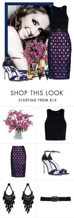 """look157"" by francitaeg ❤ liked on Polyvore featuring New Growth Designs, T By Alexander Wang, Burberry, Dolce&Gabbana, Miu Miu and Oasis"