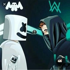 near vs mello \ near vs mello Dope Wallpapers, Gaming Wallpapers, Marshmello Wallpapers, Arte Do Harry Potter, Best Dj, Music Wallpaper, Dope Art, Electronic Music, Marshmallow