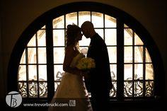 Winnipeg wedding photography at the Hamilton Building.